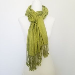 Accessories - ❣(3) for $25 Fringed Scarf Shawl Wrap